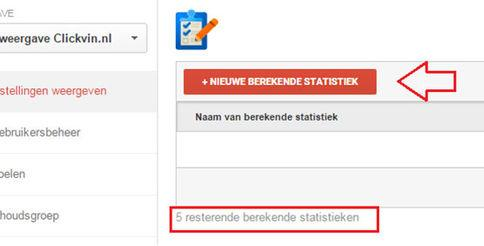 Calculated Metrics in Google Analytics, ze zijn er!